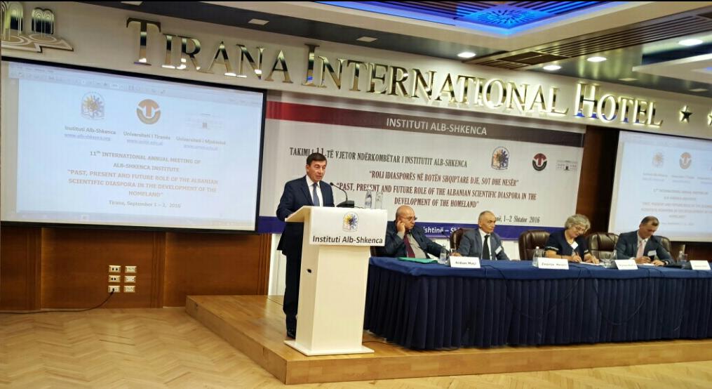 Fjala e mbajtur gjatë Takimit 11-të të Institutit Alb-Shkenca në Tiranë