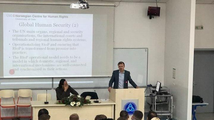Ligjeratë e hapur nga Prof. Dr. Gentian Zyberi